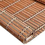 Cortina de bambú, Cortina Enrollable, Cortina de Puerta para el hogar, Cortina de elevación Manual, partición de Sombra, se Puede Personalizar