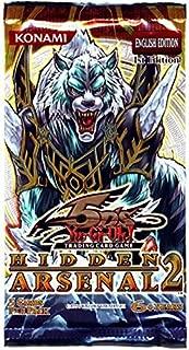YuGiOh 5D's Hidden Arsenal 2 Booster Pack (1st Edition)(5 Secret or Super Rare Cards/Pack)