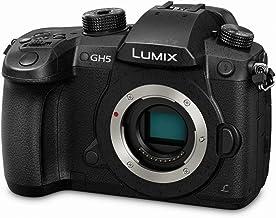 Panasonic LUMIX GH5 4K Digital Camera, 20.3 Megapixel Mirrorless Camera with Digital Live MOS Sensor, 5-Axis Dual I.S. 2.0...