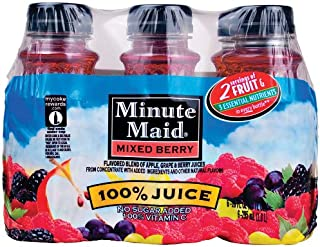 Minute Maid Juices To Go 100% Juice Mixed Berry 10 Oz - 4 Pack