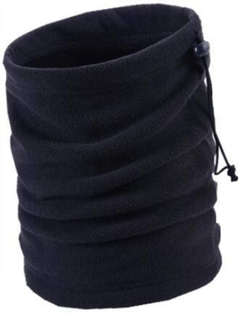XIURAB Men's Autumn and Winter Warm and Windproof Scarf, Thickened Cold-Proof Hedging, Multifunctional Outdoor Warm Scarf