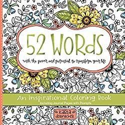 52 words an inspirational coloring book