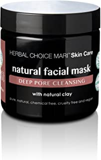 Herbal Choice Mari Natural Facial Mask; 4floz BPA-Free Plastic