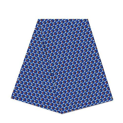 Tela de cera africana de 6 yardas 100% algodón 2018 Ankara africana algodón encerado tela super holandesa 6 yardas tela africana para vestido de fiesta