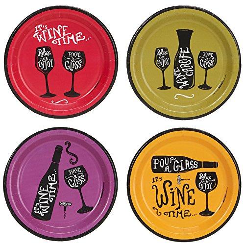 Set of 30 Cocktail Beverage 2-ply Paper Napkins ~ Wine Wine Wine COMINHKPR143818