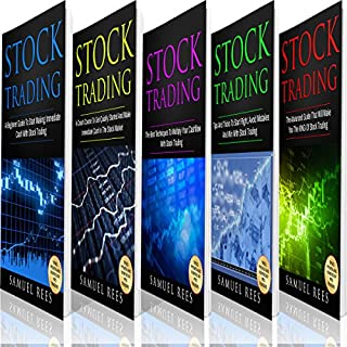 Stock Trading: The Bible: 5 Books in 1 audiobook cover art