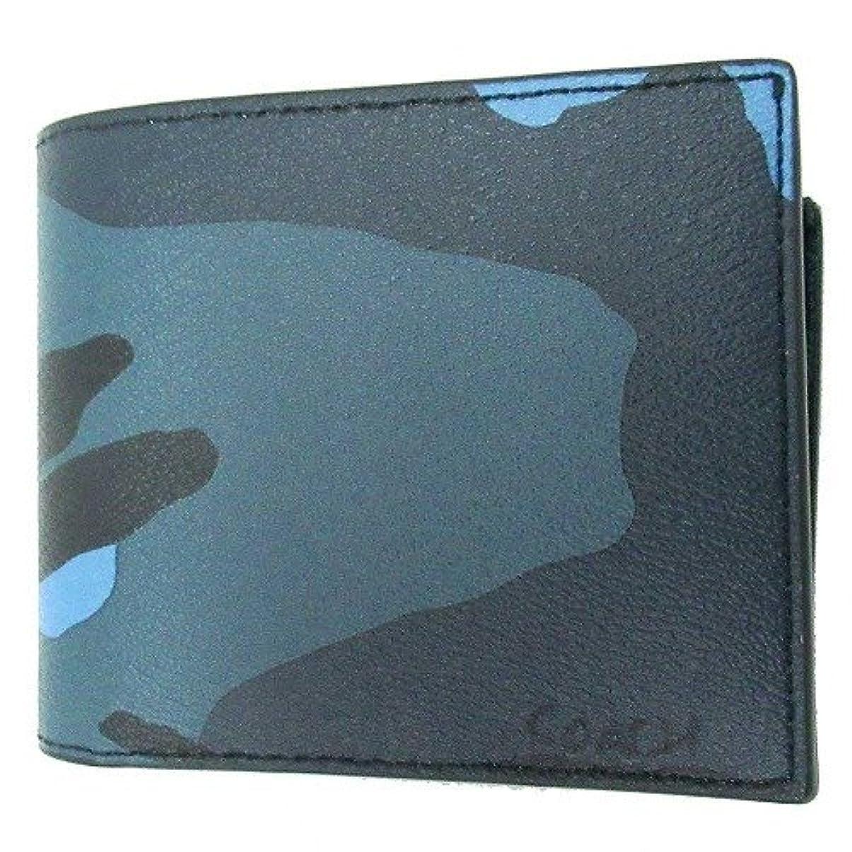 増強する日焼けルーコーチ 財布 COACH アウトレット メンズ 3 in 1 カモ プリント IDウォレット 二つ折り財布 F32438 MRX