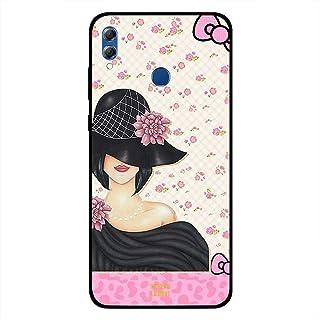 Honor 8X Case Cover Black Hat Girl, Moreau Laurent Premium Phone Covers & Cases Design