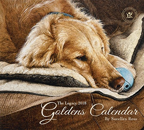 Legacy Publishing Group 2018 12-Month Wall Calendar, Goldens
