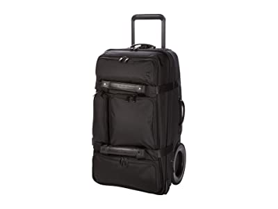 G-RO Carry-On Ballistic Nylon (Stealth Black/Black) Luggage