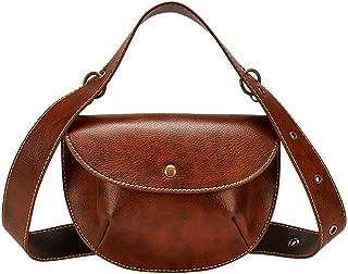 Everpert Women Waist Pack Leather Belt Waist Handbags Pouch Fanny Mini Messenger Bags Casual Handbags Women Pu Leather Crossbody Bags Chain Shoulder Bagcrossbody Pack