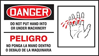 Accuform SBLEQM023VSP Spanish Bilingual Safety Label, Legend