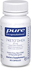 Pure Encapsulations - 7-Keto DHEA 25 mg - Unique DHEA Metabolite to Support Thermogenesis and Healthy Body Composition - 6...
