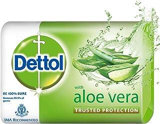 Dettol Aloe Vera Germ Protection Bathing Soap bar, 100gm