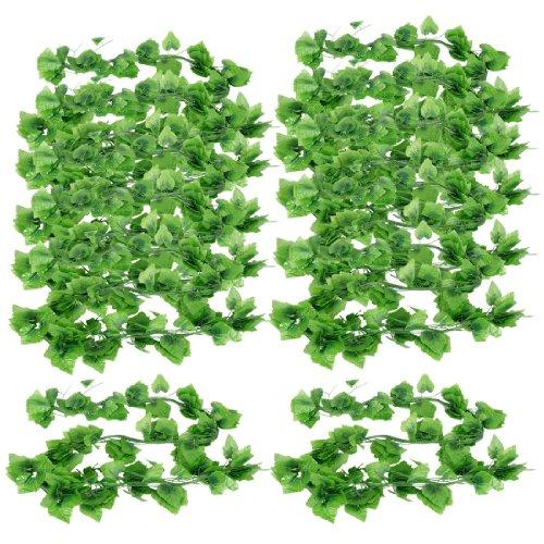 sourcingmap Plante Vert 2,4 m Motif grappe de Raisin Vine House-Décoration de Jardin-Lot de 12