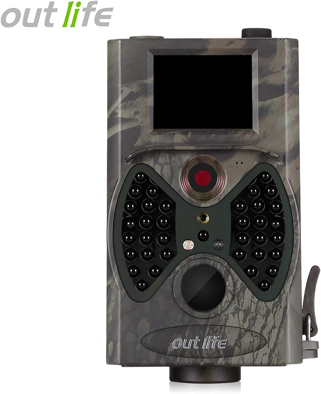 HD 1080P 12 MP Trail Camera Video Scouting Infrared Night Vision IR LEDs