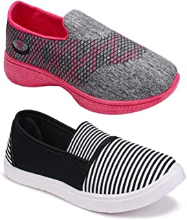 CAMFOOT Women Multicolour Latest Collection Sneakers Shoes- Pack of 2 (Combo-(2)-11022-1152)