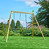 TP Toys TP304 Wooden Swing Frame (Forest Double)