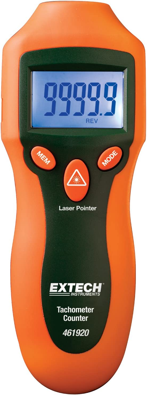 Extech Digital Stroboscope Tachometer 110V 50Hz//60Hz Digital Instrument