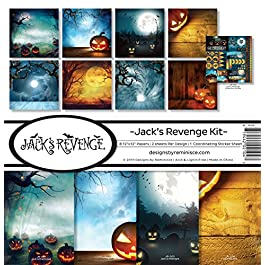 Reminisce Jack's Revenge Scrapbook Collection Kit