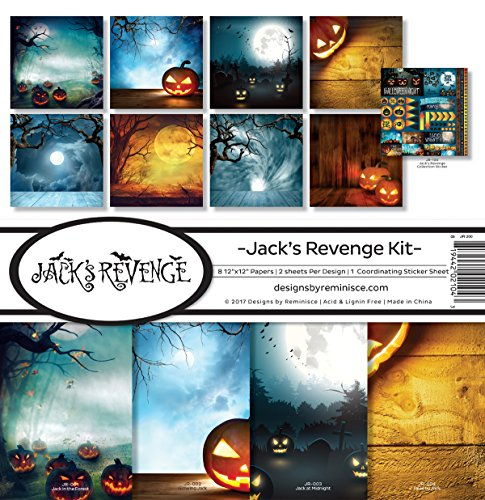 Reminisce Jack's Revenge Scrapbook Collection Kit |