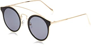 MESTIGE Women's Sunglasses Round Presley in Gold Gold & Black