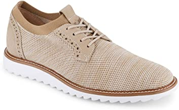 Dockers Mens Einstein Knit/Leather Smart Series Dress Casual Oxford Shoe with NeverWet