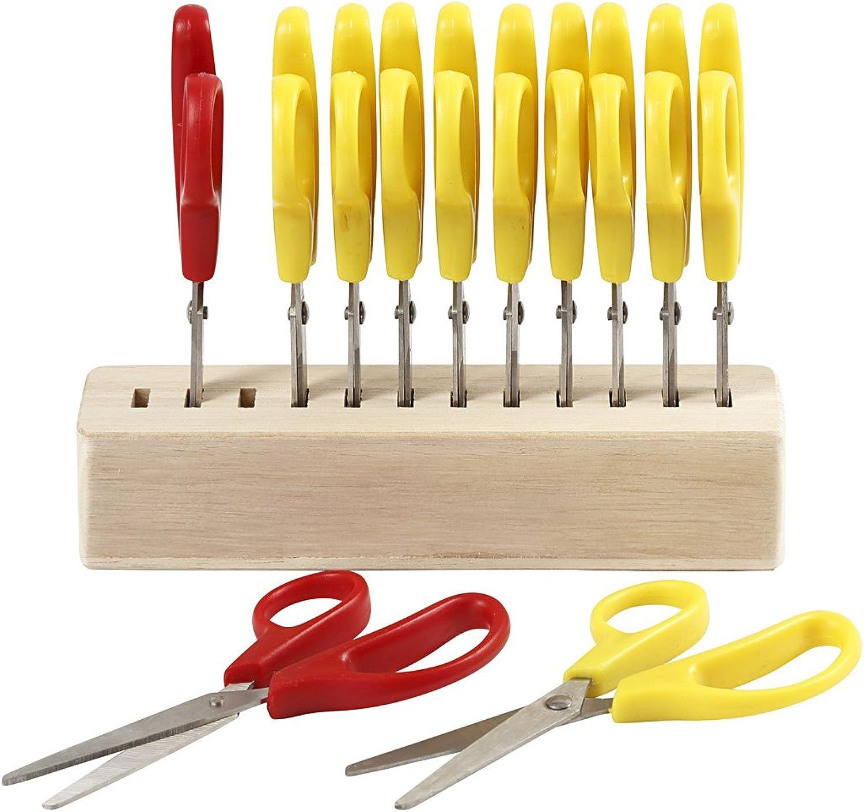 Kids Scissors inc. Scissors Hold, L  125cm, 12asstd
