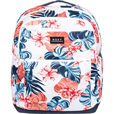 Roxy Here You Are Backpack (Bright White Standard) Backpack Bags
