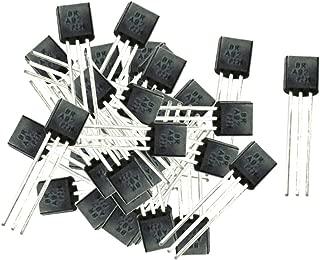 Akozon Assortimento Transistor Silicio NPN//PNP 200 pz 10 Valori con Scatola di Stoccaggio