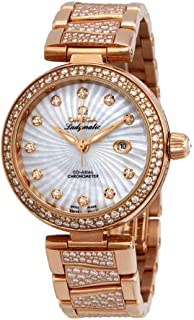 De Ville Ladymatic Automatic Mother of Pearl Dial Ladies Watch 425.65.34.20.55.005