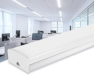 AYIYUN Tubo Fluorescente LED 30W Lampara Super Brillante 2400 LM Lámpara Blanco Frío 6000K Luminaria de Taller Plafón Pa...
