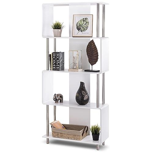 Modern Style Bookcases Amazon Com