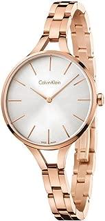Calvin Klein Women's Analogue Quartz Watch with Stainless Steel Strap K7E23646