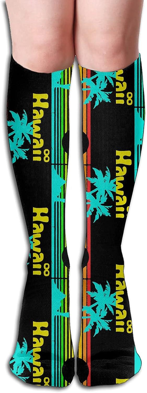 Retro Vintage Hawaii Socks for Women Men Albuquerque Mall Run Detroit Mall Athletic