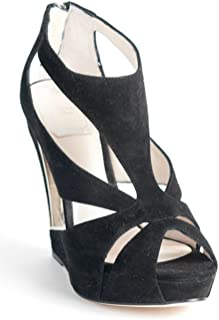 Christian Cutout Wedge Sandals 36.5 US 6.5