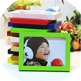 A4 A1 A2 A5 Multi Size Room Decor Wooden Picture Photo Wall Frame Single Picture Desk Wall Frame,Green,6 inch