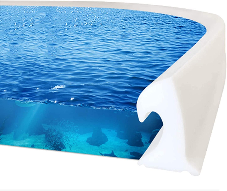 Bathroom Collapsible Regular dealer Threshold Water 40% OFF Cheap Sale Dam Design Ocean with Wave