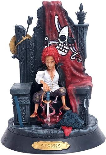 FKYGDQ Anime Cartoon Einteiliges Spiel Charakter Modell Statue H  24 cm Spielzeug Dekorationen Geschenke Sammlungen Geburtstagsgeschenke Spielzeugstatue
