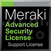 Meraki MX84 Advanced Security License and Support, 3 Years, Electronic Delivery