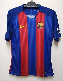 16-17バルセロナ(H)#18 ジョルディ・アルバ Jordi Alba 選手用半袖 ラ・リーガ仕様 XL...