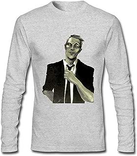 Hefeihe DIY DJ Dash Berlin Logo Men's Long-Sleeve Fashion Casual Cotton T-Shirt