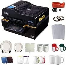 INTBUYING 3D Vacuum Heat Press Machine Sublimation Transfer Mug Plate Tile T-Shirt CISS Tape Printing Business