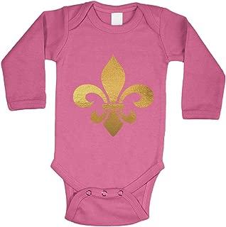 Gold Foil Fleur De Lis - New Orleans Bodysuit