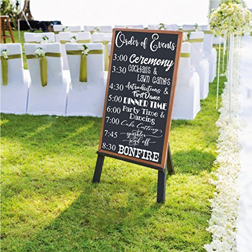 Order of Events Wedding Timeline Wedding Timeline Board Program Sign Order of the Day Welcome Board Welcome Sign