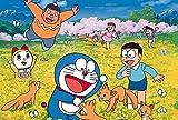 Rompecabezas de dibujos animados de Doraemon para niños y adultos, gran paisaje educativo, rompecabezas, pinturas intelectuales, juego de rompecabezas, regalo para la decoración de la pared del hogar