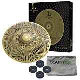 Zildjian L80 Low Volume 10 Inch Splash Cymbal w/Geartree Cloth and Cymbal Felts