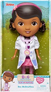 Doc McStuffins Doll Doctor with Stethescope and White Coat Disney Jr Toy Hospital Time For a Checkup 9