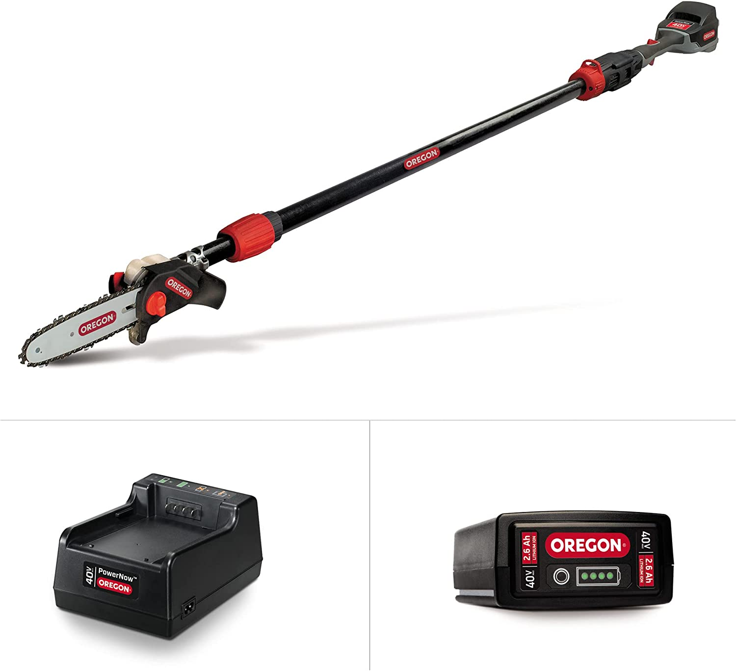 Bargain Oregon Max 87% OFF PS250 Pole Saw with 2.6 Battery Ah and Standard Charger