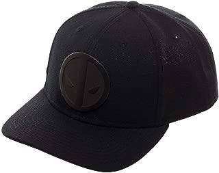 Marvel Deadpool Flat Brim Adjustable Snapback Baseball Cap